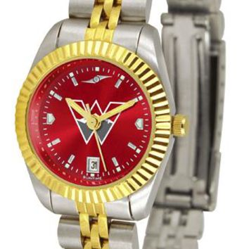 Western State Colorado University Mountaineers Ladies' Executive AnoChrome Watch
