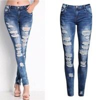 ONETOW Ripped  Jeans