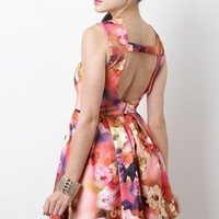 Flower Constellation Dress