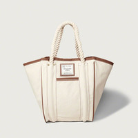 Womens Rope Handle Tote | Womens Clearance | Abercrombie.com