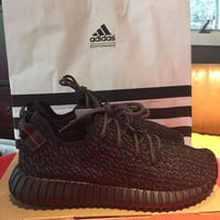 2015 yeezy 350 boost  All Black DS