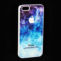 Abstract  Blue iPhone 4 / 4S Case,iPhone 5 / 5S / 5C Case,Rubber Case or Hard Cover