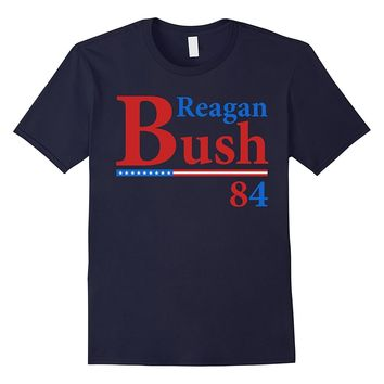 REAGAN BUSH 84 T-SHIRT Ronald Reagan George Bush