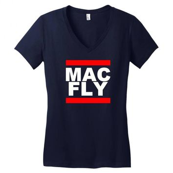 MAC - FLY Women's V-Neck T-Shirt