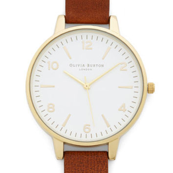 Olivia Burton Minimal Excuse Me, Miss Watch
