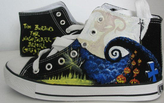 Nightmare Before Christmas Hand Painted From