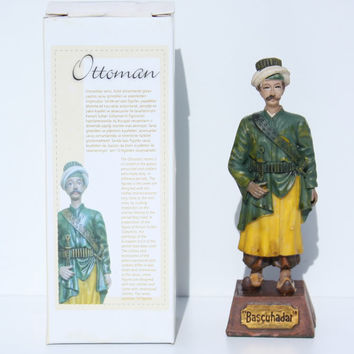 OTTOMAN TURKISH TOY FIGURE BAŞÇUHADAR [2010] - $18.89 : Turkish Today!, Online Turkish Store