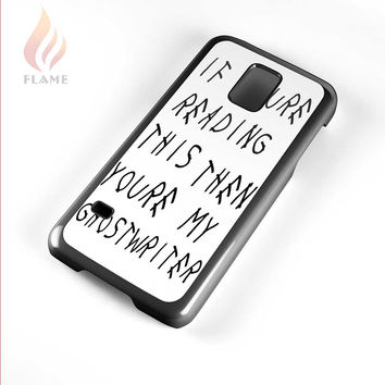 Drake Ghostwrite Lyric Samsung Galaxy S5 Mini Case