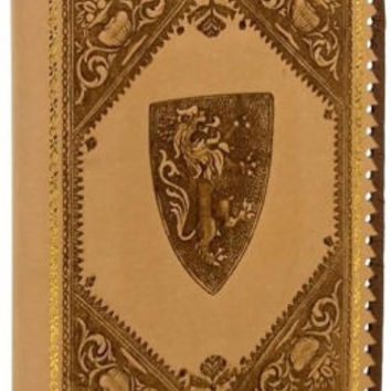 Medici Lions Kraft Recycled Italian Leather Journal (9