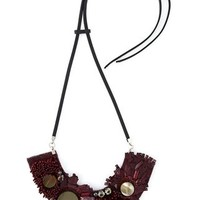 Marni Horn Sequin Necklace - Chin's - Farfetch.com
