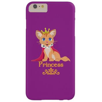 Princess Kitten Barely There iPhone 6 Plus Case