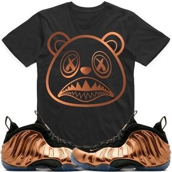 BAWS LOGO Sneaker Tees Shirt - Copper Foamposites