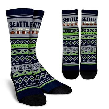 Seattle Football Socks