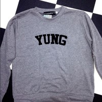 SWEET LORD O'MIGHTY! LIL YUNGIN PULLOVER