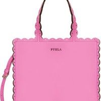 Furla Small Merletto Leather Tote | Nordstrom
