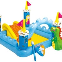 Fantasy Castle Inflatable Play Center for Ages 2+