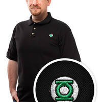 Green Lantern Polo - Black,