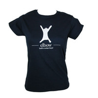 Elbow Build A Rocket Boys! Navy Babydoll - Images - Live Nation Merchandise