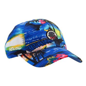 Tropical Frat Hat in Blue by Southern Proper
