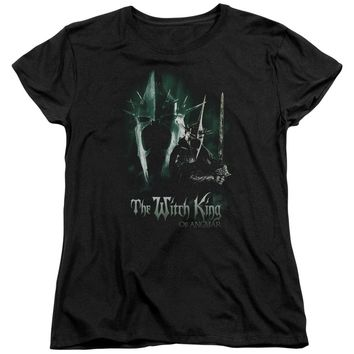 Lor - Witch King Short Sleeve Women's Tee Shirt Officially Licensed T-Shirt