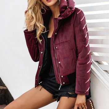 Women's Casual Winter Fashion Jacket