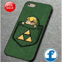 Pocket Link the legend of zelda  for iphone, ipod, samsung galaxy, HTC and Nexus PHONE CASE
