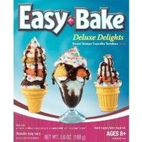 Easy Bake Deluxe Delights - Sweet Scoops Cupcake Sundaes Mixes