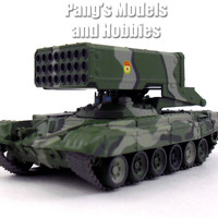 "Soviet TOS-1 ""Blazing Sun"" Multiple Rocket Launcher - Thermobaric Weapon 1/72 Scale Diecast Model"