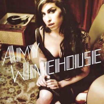 Amy Winehouse Portrait Poster 24x36