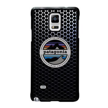 PATAGONIA FISHING BUILT TO ENDURE Samsung Galaxy Note 4 Case Cover