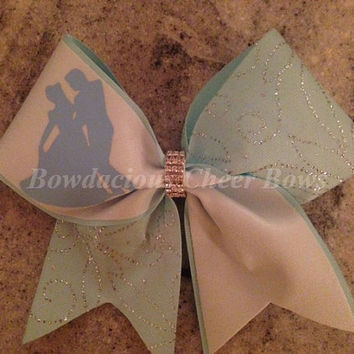 "Disney ""Cinderella"" Cheer Bow"