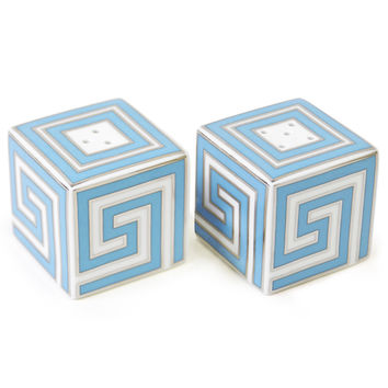 Jonathan Adler Greek Key Salt & Pepper Shakers