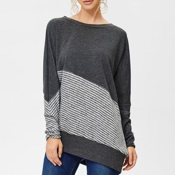 Read Between the Lines Tunic (Charcoal)