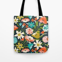 Nightshade Tote Bag by Heather Dutton