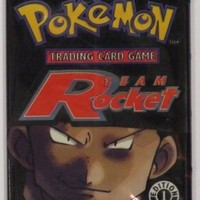 Pokemon Team Rocket American Trading Card Game Booster Pack