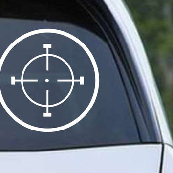 Crosshair Scope Hunting Target HNT1-3 Die Cut Vinyl Decal Sticker