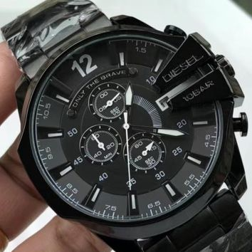 Diesel 2019 new high-end fashion steel belt watch #2