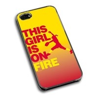 Softball iPhone 5 | iPhone 5S Case This Girl Is On Fire Pitcher
