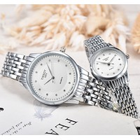 8DESS Tissot Woman Men Fashion Quartz Movement Wristwatch Watch