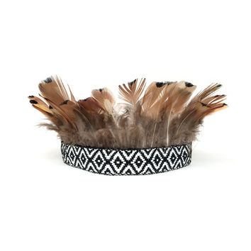 Feather Hair, Native American Headband, Hippie Headband, Coachella, Feather Headband, Costume Hair, Adult, Kids, Baby