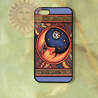 Dec Moon iPhone 5 case, iphone 4s, iphone 4 case, Samsung GS3 case, Ipod touch case-Silicone Rubber / Hard Plastic Case, Phone cover