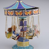 Swing Carousel with Animals
