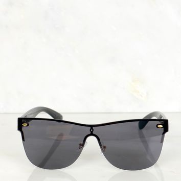 Mirrored Sunglasses Black