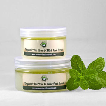 Tea Tree & Mint Foot Scrub