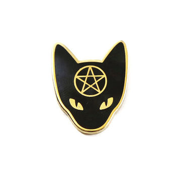 Cat Coven Lapel Pin