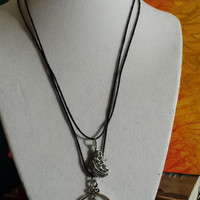 Larry Stylinson Necklace (ship and compass charms)