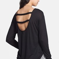 Soprano Braid Back Top (Juniors) | Nordstrom