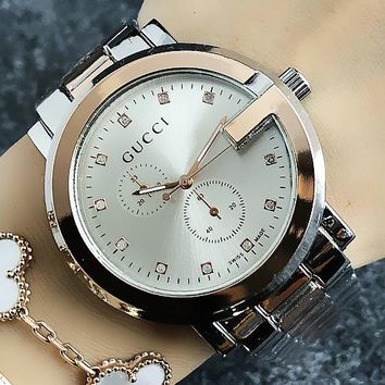 GUCCI 2018 new men and women fashion personality quartz waterproof watch F-H-JH 1