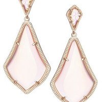 Kendra Scott Alexis Earrings- Iridescent Peach