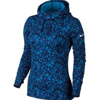Nike Women's Pro Warm Glitch Printed Hoodie | DICK'S Sporting Goods